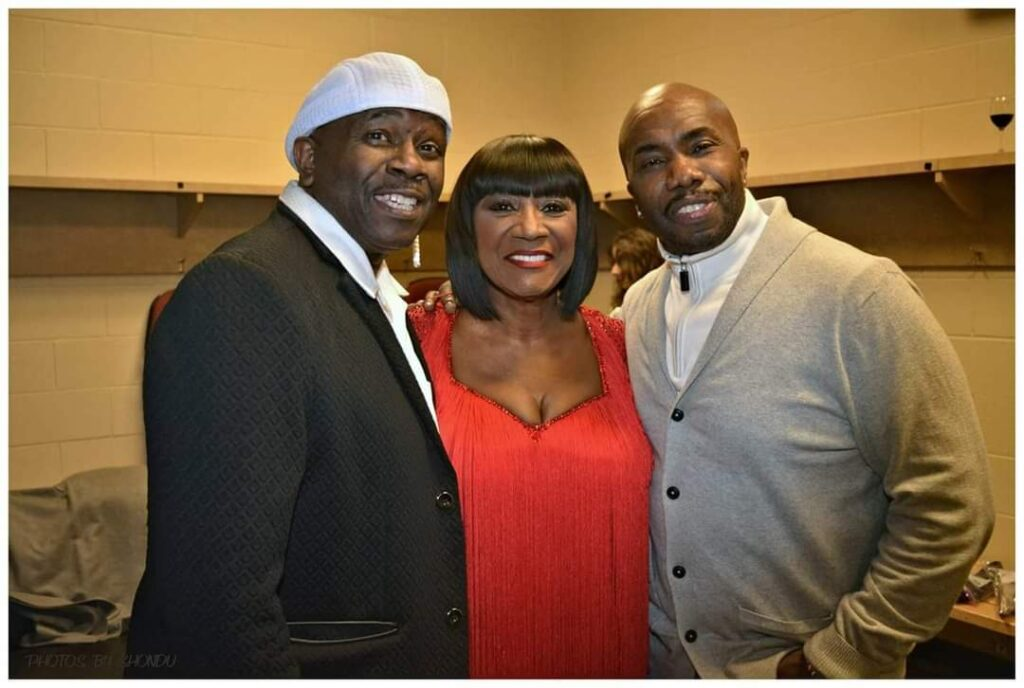Bowlegged Lou, Patti LaBelle, and Paul Anthony